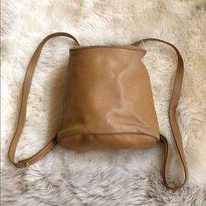 Longchamp backpack purse